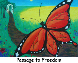 Art Cards & Posters, Passage to Freedon, Catherine Rose Hutchison